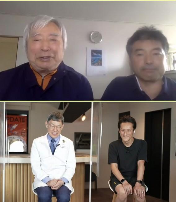 念願のエベレスト登頂者 三浦雄一郎さんのオンラインセミナー参加